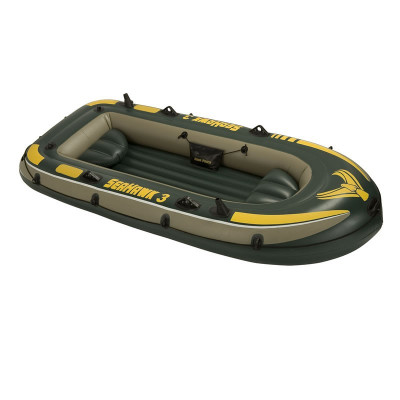 Barca pneumatica 3 persoane Intex SeaHawk 3, 295 x 137 cm foto
