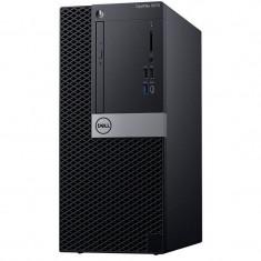 Sistem desktop Dell Optiplex 5070 MT Intel Core i7-9700 8GB DDR4 256GB SSD Mouse Windows 10 Pro 3Yr NBD Black