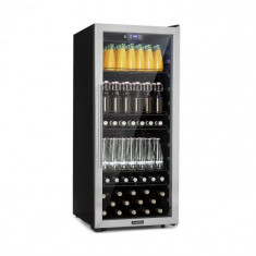 Klarstein Beersafe 7XL, răcitor de băuturi, 242 l, A +, sticlă, oțel inoxidabil