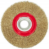 Perie circulara din sarma 125 mm x 10 mm VOREL