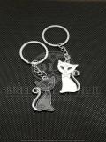 Breloc Set cuplu pisici aristocrate accesorii cupluri indragostiti