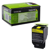 Toner lexmark 70c2hye yellow 3k compatibil cu cs310dn / cs310n/