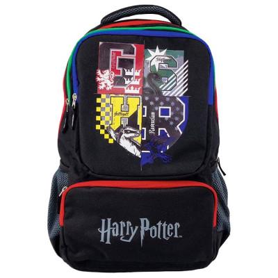 Ghiozdan gimnaziu Pigna Harry Potter negru HPRS1875-1 foto