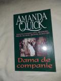 AMANDA QUICK - DAMA DE COMPANIE