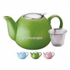 Ceainic din ceramica cu sita Peterhof PH15552 PH10055 1.25L