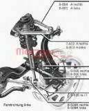 Bascula / Brat suspensie roata SEAT EXEO ST (3R5) (2009 - 2016) METZGER 88009211