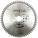 Disc circular pentru aluminiu 200 x 3 x 30 mm Yato YT-6091