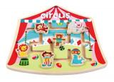 Puzzle Labirint La Circ, New Classic Toys