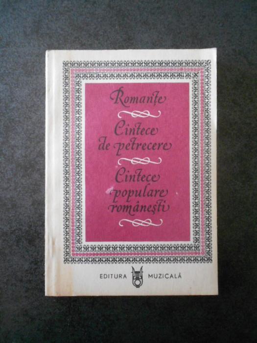 Negative cantece populare romanesti