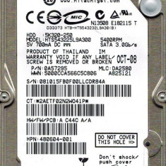 Hdd Hard Disk laptop HGST Travelstar 5K320 HTS543225L9A300 5K320 250 GB - SATA