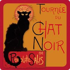 Platou din sticla - Chat Noir | Cartexpo