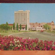 R.S.R. - TIMISOARA - CONTINENTAL HOTEL - CIRCULATA, TIMBRATA., Fotografie