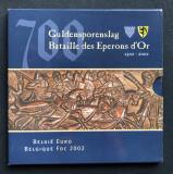 Belgia set euro 2002 UNC  FDC