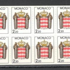 Monaco.1987 Stema carnet  MM.873