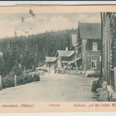 1932 CP ilustrata Statiunea climaterica Paltinis, Kurhaus Hohe Rinne