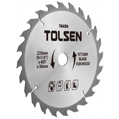 Lama ferastrau TCT Tolsen, 185 x 30 x 40T foto