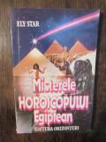 Misterele horoscopului egiptean - Ely Star