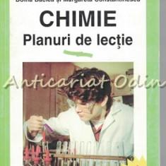 Chimie. Planuri De Lectie (Clasele VII-XII) - Doina Baclea