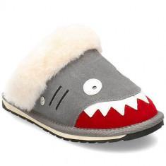 Papuci Copii Emu Shark Slipper K12436PUTTY