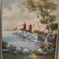 Pictura deosebita in ulei pe panza, Peisaje, Realism