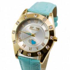 Ceas dama sic, elegant MATTEO FERARI, design italian Crystal Shine - MF146BLUE