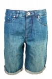 Pantaloni scurti denim John Devin, Albastru, pentru barbati