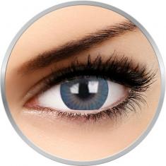 ZenVu Vogus Blue - lentile de contact colorate albastre trimestriale - 90 purtari (2 lentile/cutie)