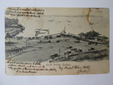 Carte postala India/Bombay-Debarcaderul Apollo Bunder,circulata cu goarnă 1915, Printata