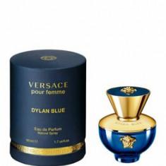 Apa de parfum Versace Dylan Blue Pour Femme, 50 ml, pentru femei