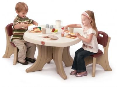 Set masuta si 2 scaune pentru copii - STEP2 foto