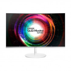 Monitor LED Gaming Curbat Samsung LC32H711QEUXEN 31.5 inch 4ms White
