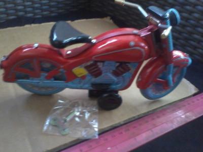 bnk jc China - Motocicleta - mecanism cu cheita - functionala foto