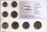 Luxemburg Set 8B - 1, 2, 5, 10, 20, 50 euro cent, 1, 2 euro 2002 - UNC !!!