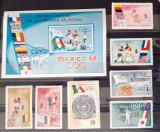 Cuba 1968 SPORT JOCURILE OLIMPICE MEXICO SERIE7v+ colita mnh