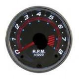 Turometru benzina Chrome series 52mm - 4 cilindri Carpoint ManiaMall Cars