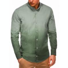 Camasa barbati K514-verde