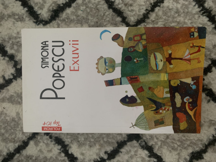 Carte Exuvii de Simona Popescu