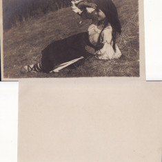 Tipuri din Carpati - WWI,WK1-port popular, Necirculata, Printata