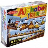 Puzzle de Podea Trenul Alfabet, Melissa & Doug