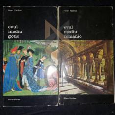 HENRI FOCILLON - EVUL MEDIU ROMANIC (DOUA VOLUME)