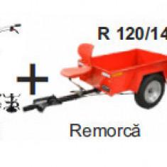 Pachet Motosapa pe benzina MS 7-80 + remorca R 120/140, Breckner