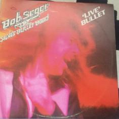 bob seger silver bullet band live dublu disc vinyl 2 lp muzica rock 1976 capitol