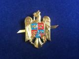 Insigna militara - Cuc / Cascheta / Emblema / Coifura - Actuala cu coroamă