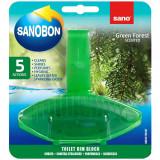 Odorizant wc Sano Bon Green Forest 5in1 55g
