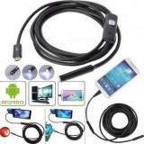 Camera endoscopica pentru telefon, 6 x LED, USB, 3,5 m