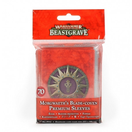 Aparatori Carti Whu, Morwaeth's Blade Coven Premium Sleeves