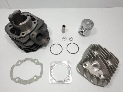 Kit Cilindru Set Motor + Chiuloasa Scuter Daelim Tapo 49cc 50cc AER foto