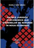 BAZELE JURIDICE SI ECONOMICE ALE SISTEMELOR DE RESURSE IN NOUA ECONOMIE