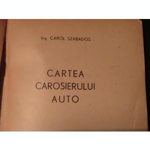 CARTEA CAROSIERULUI AUTO-C. SZABADOS-175 PG-