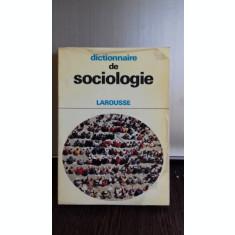 DICTIONNAIRE DE SOCIOLOGIE (DICTIONAR DE SOCIOLOGIE)